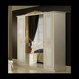 Шкаф 4-х дверный Эвита беж