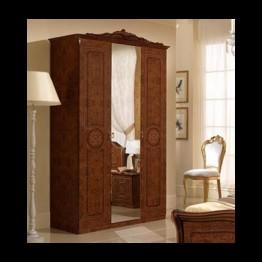 Шкаф 4-х дверный Эвита орех