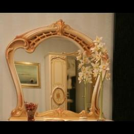Зеркало Памела беж золото