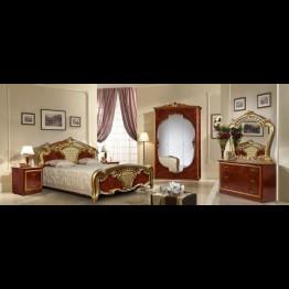 Шкаф 3-х дверный Карина орех золото