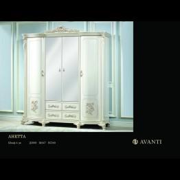 Шкаф 4-х дверный - Анетта