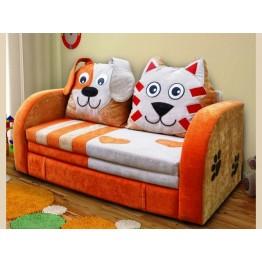 """Мини-диван """"Кот и пес""""."""
