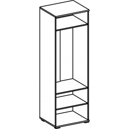 Шкаф для одежды «Квадро» П181.09