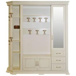 Шкаф комбинированный для прихожей «Верди Люкс 2.1» П433.02-01
