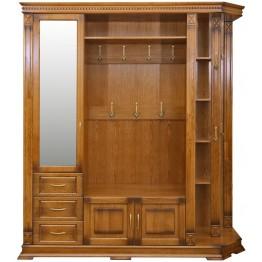 Шкаф комбинированный для прихожей «Верди Люкс 2» П433.02