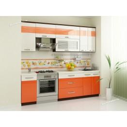 Кухонный гарнитур Оранж 10 (ширина 240 см)