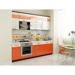Кухонный гарнитур Оранж 19 (ширина 240 см)