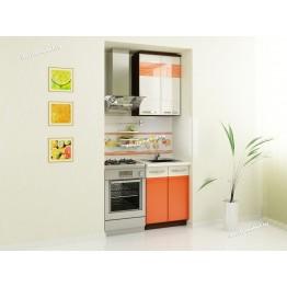 Кухонный гарнитур Оранж 2 (ширина 120 см)