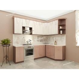 Кухонный гарнитур угловой Афина 16 (ширина 240х160 см)