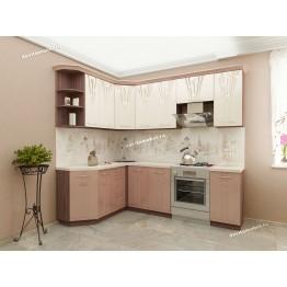 Кухонный гарнитур угловой Афина 17 (ширина 160х240 см)