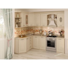 Кухонный гарнитур угловой Глория_3 17 (ширина 160х240 см)