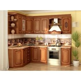Кухонный гарнитур угловой Глория_6 17 (ширина 160х240 см)