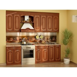 Кухонный гарнитур Глория_6 9 (ширина 240 см)