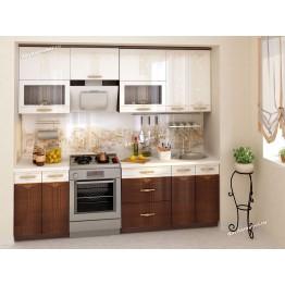 Кухонный гарнитур Каролина 11 (ширина 240 см)