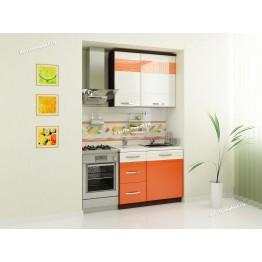 Кухонный гарнитур Оранж 3 (ширина 140 см)