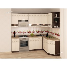 Кухонный гарнитур угловой Аврора 16 (ширина 240х160 см)