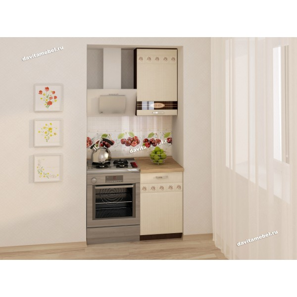 Кухонный гарнитур Аврора 1 (ширина 100 см)