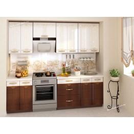 Кухонный гарнитур Каролина 9 (ширина 240 см)