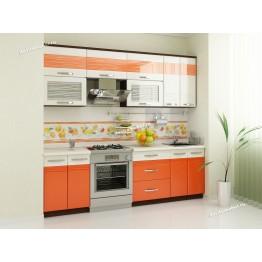 Кухонный гарнитур Оранж 11 (ширина 240 см)