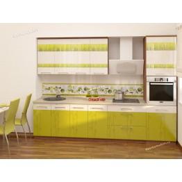Кухонный гарнитур Тропикана 21 (ширина 300 см)
