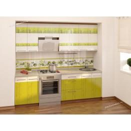 Кухонный гарнитур Тропикана 9 (ширина 240 см)