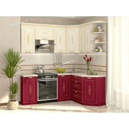 Кухонный гарнитур угловой Виктория 14 (ширина 200x150 см)