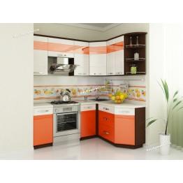 Кухонный гарнитур угловой Оранж 14 (ширина 200х150 см)