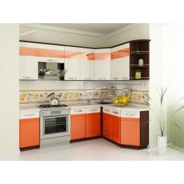 Кухонный гарнитур угловой Оранж 16 (ширина 240х160 см)