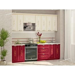 Кухонный гарнитур Виктория 9 (ширина 240 см)