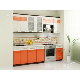 Кухонный гарнитур Оранж 12 (ширина 240 см)