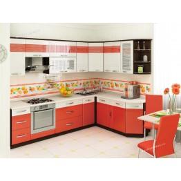 Кухонный гарнитур угловой Оранж 18 (ширина 280x190 см)