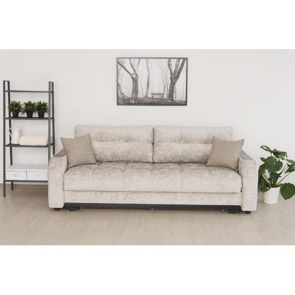 Прямой диван Монако светлый