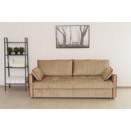 Прямой диван Ницца светло-коричневый