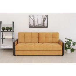 Прямой диван Манхэттен желтый
