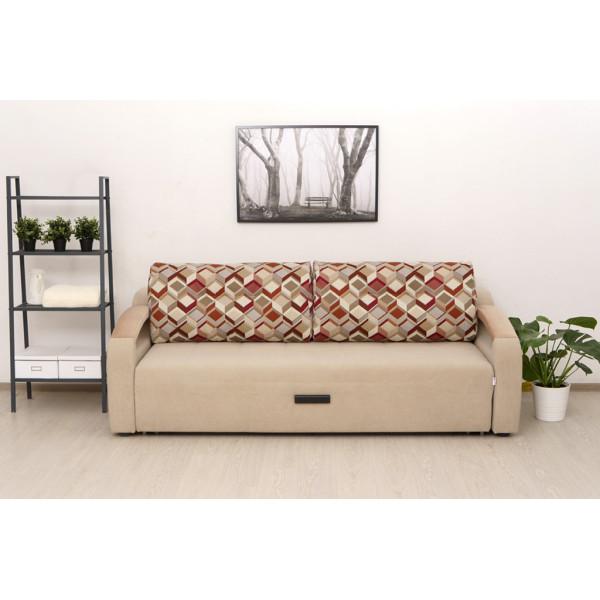 Прямой диван Орландо светлый