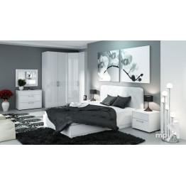 Спальня «Амели» (Белый глянец, Белая)