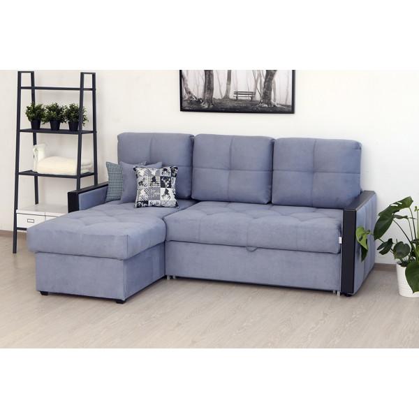 Угловой диван Манхэттен серый