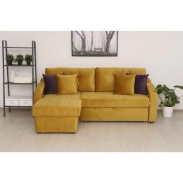 Угловой диван Орландо желтый