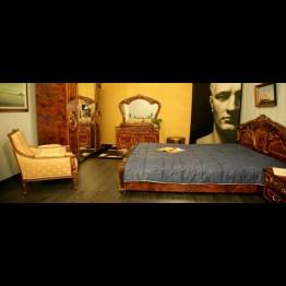 Кровать Памела Орех золото
