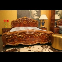 Кровать Юлия Орех золото