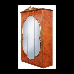 Шкаф 3-х дверный Карина черешня золото