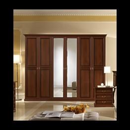 Шкаф 3-х дверный Неола орех