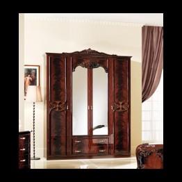 Шкаф 3-х дверный Олимпия могано