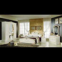 Шкаф 4-х дверный Виктория беж