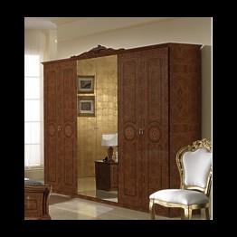 Шкаф 6-ти дверный Эвита орех
