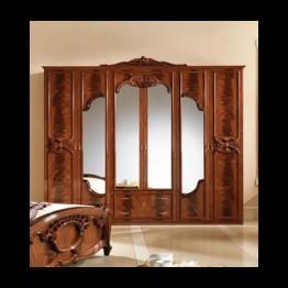 Шкаф 6-ти дверный Олимпия орех