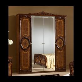 Шкаф 6-ти дверный Памела орех