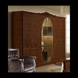 Шкаф 6-ти дверный Виктория орех
