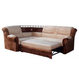 """Угловой диван """"Ассамблея люкс"""" с баром"""