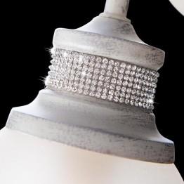 Бра 70029/1 белый с серебром